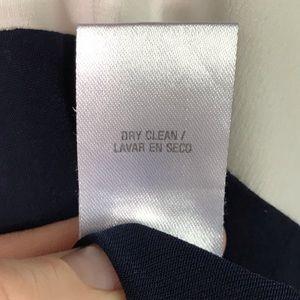Studio One Dresses - 💥 Studio One faux wrap dress navy M